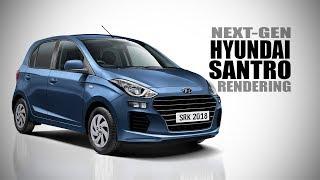 New Hyundai Santro (AH2) - Rendering - Making Video | SRK Designs