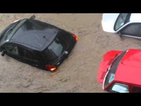 Inondation a La Chauss ée, Maurice le 30/03/2013 - Du Jamais-Vu !!!