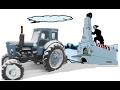 Печка для трактора Т-40