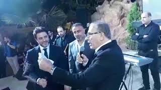 ملحم زين يتلقى من عماد قانصوه درع محبة ووفاء