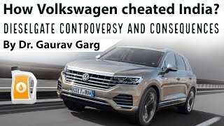 How Volkswagen cheated Indian emission tests, Diesel Gate scandal & Lessons for India
