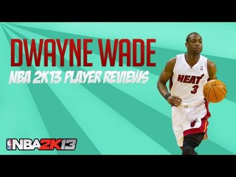 NBA 2k13 Dwyane Wade 93 Ovr Player Review
