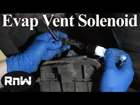Symptoms and Diagnosis of a Bad Evap Vent Valve Solenoid - List of Codes Included