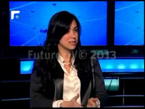 Al-Jazeera English Co-Founder/Journalist Carol Malouf with Youmna Naufal