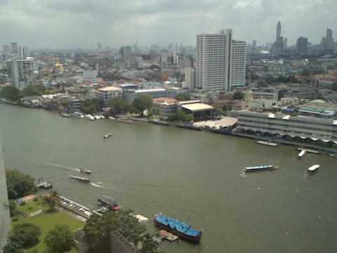 View from Millennium Hilton Bangkok