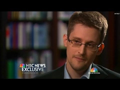 Edward Snowden Says He Was 'A Trained Spy'