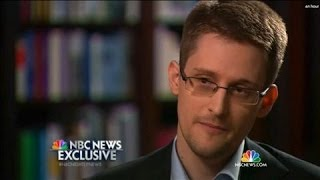 Edward Snowden Says He Was 'A Trained Spy'  5/28/14