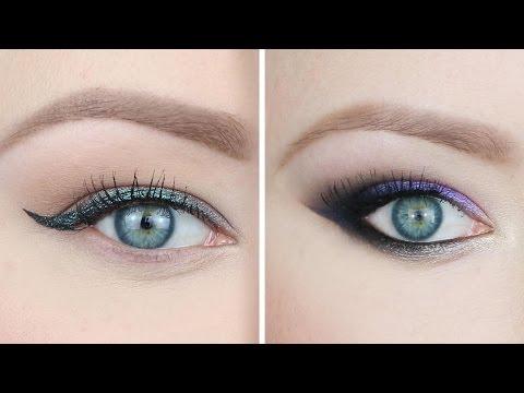 2 Makijaże Z Użyciem Cieni Duochrome  ★ Red Lipstick Monster ★ video