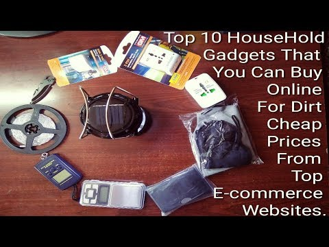 Top 10 Gadgets to Buy Online at dirt cheap prices | best budgeted Gadgets | Cheapest Gadgets