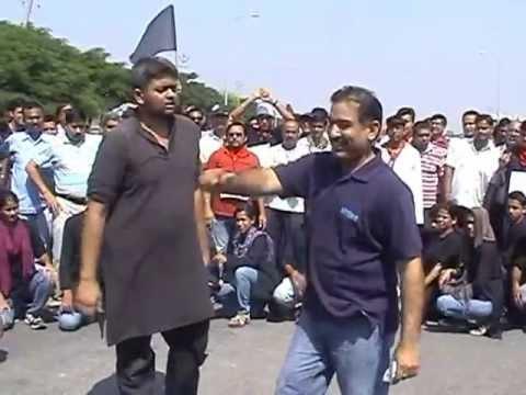 30th Sep 2012 Home Buyers Protest organized by GFWA - Play by Asmita Theatre Group - Part 3