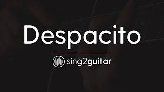 Despacito Acoustic Guitar Karaoke Luis Fonsi Daddy Yankee Justin Bieber