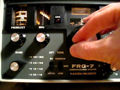 Yaesu FRG-7 shortwave ham radio