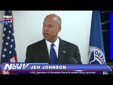 FNN: Secreatary of Homeland Security Jeh Johnson Discusses Terrorism from FEMA HQ