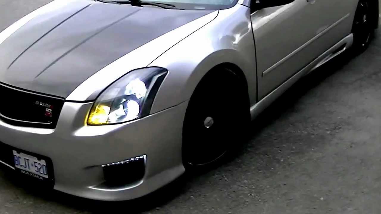 "2007 Nissan Maxima Custom >> J-MAX CUSTOM 04 NISSAN MAXIMA MODDED UP ""TO ALL MY HATERS"" - YouTube"