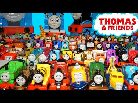 THOMAS AND FRIENDS TAKE N PLAY RAILWAY HUGE COLLECTION THE GREAT RACE TRAINS