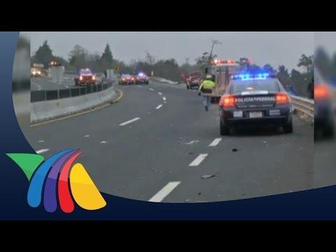 Aparatoso Accidente En La Autopista Xalapa-perote