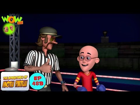 Boxing Competition - Motu Patlu in Hindi WITH ENGLISH, SPANISH & FRENCH SUBTITLES thumbnail