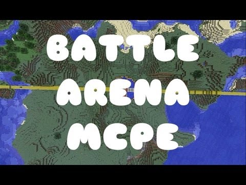 Battle Arena Round Two! (PVP minigame) (Minecraft PE)