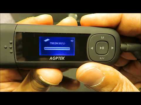 AGPTEK U3 (MP3+FM Radio+Voice Recorder)