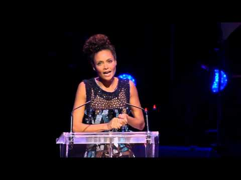 Thandie Newton on the Panzi Hospital and meeting Stephen Lewis - Hope Rising! 2012