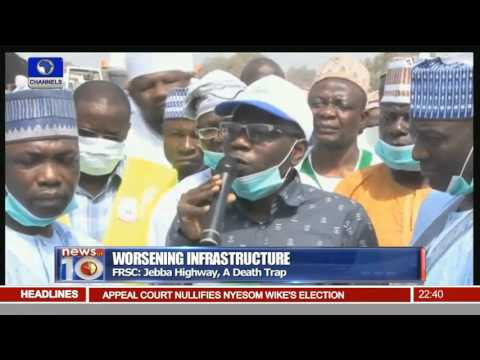 News@10: Police Disperse Biafra Protest In Lagos 16/12/15 Pt.3