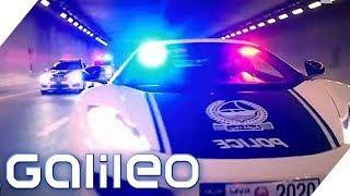 Im Ferrari auf Ganoven-Jagd: So tickt die Polizei weltweit   Galileo   ProSieben