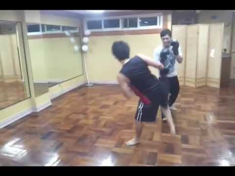 Wulfric Savate Philippines La boxe Francaise Savateur Kickboxing training workshop Image 1