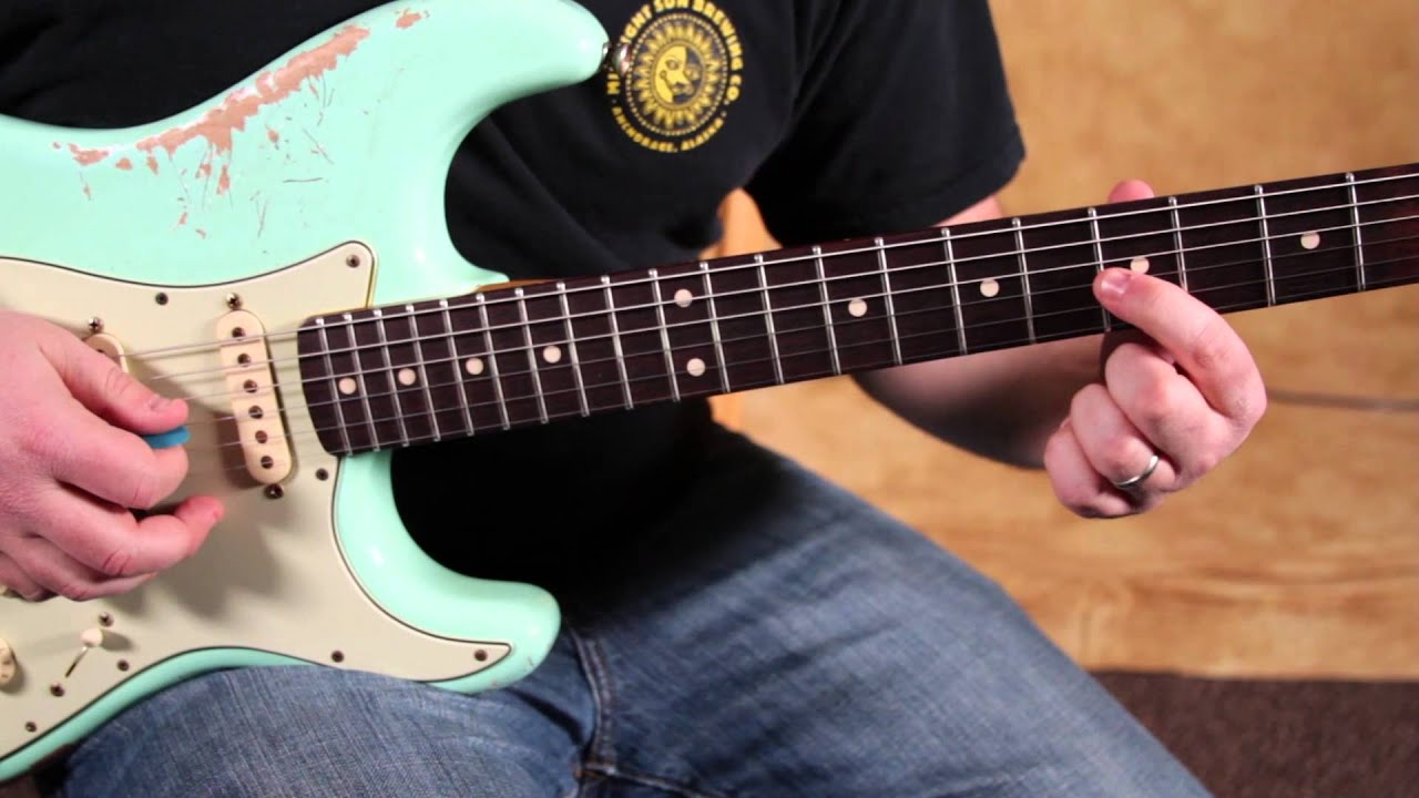 Eric Clapton Inspired Blues Guitar Lesson - Bluesy Bends for Guitar Soloing by Marty Schwartz ...