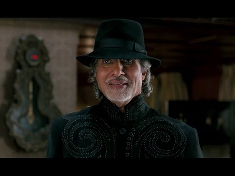 Amitabh Bachchan The Uncalled Guest - Aladin