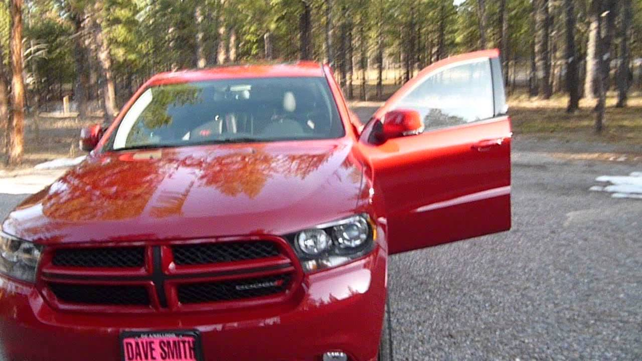 more thorough review of a 2013 dodge durango r t awd youtube. Cars Review. Best American Auto & Cars Review
