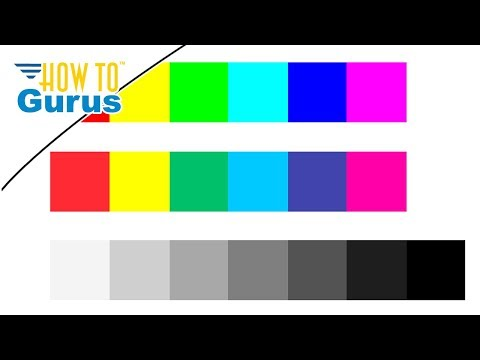 Photoshop Elements Basics Tutorial : Make a Color Chart for Color Correction in 15 14 13 12 11