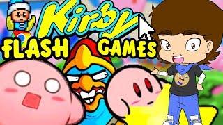 Kirby's WEIRD Flash Games - ConnerTheWaffle