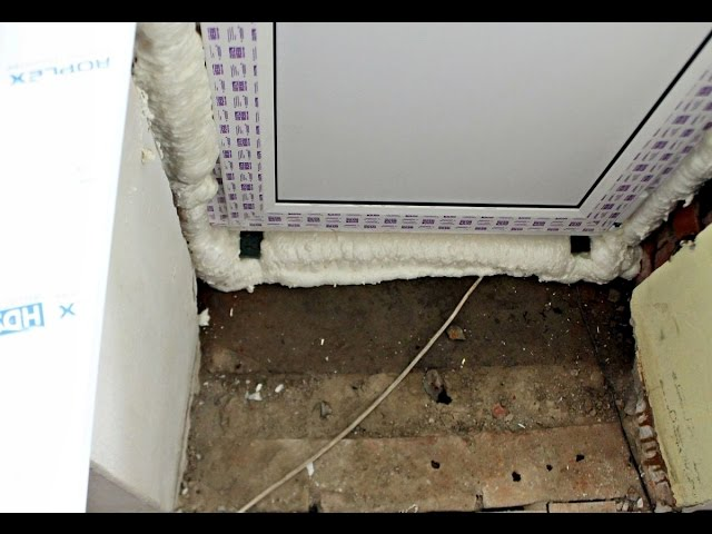 Как утеплить балконную дверь - iqiyivideo.com.