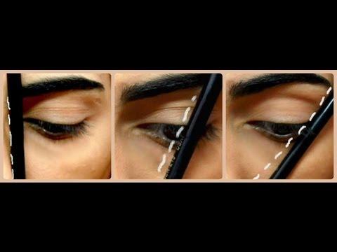 how to : Eyebrow tutorial طريقة رسم الحواجب