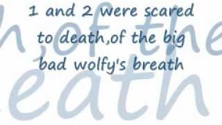who afraid of the big bad wolf lyrics bs