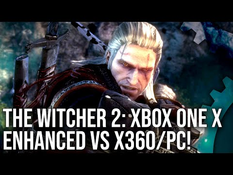 [4K] The Witcher 2: Xbox One X Enhanced vs PC vs Xbox 360 Comparison!