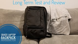 eBags Professional Slim Laptop Backpack | Long Term Test Review!