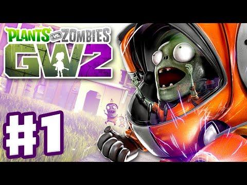 Plants vs. Zombies: Garden Warfare 2 - Gameplay Part 1 - Backyard Battleground! (Xbox One, PC, PS4)