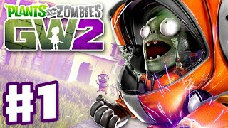 Plants vs. Zombies: Garden Warfare 2 - Gameplay Part 1 - Backyard Battleground! (Xbox One, PC, PS4)