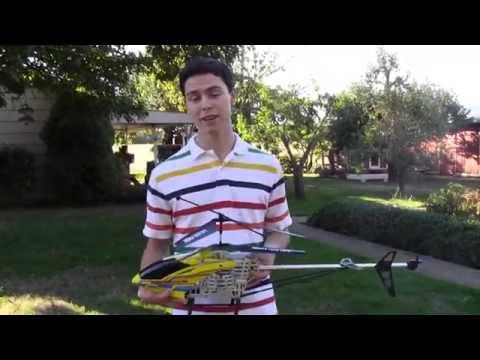 Mega Hercules 3-Foot 3.5CH Gyro RC Helicopter - Review