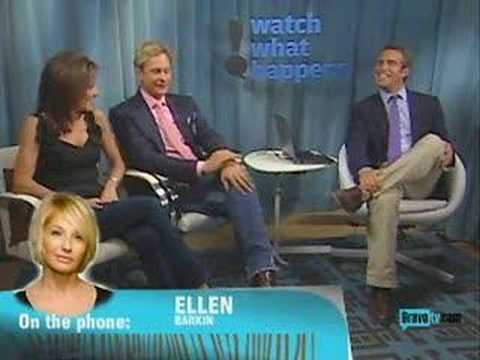 Ellen Barkin on Bravo's Watch What Happens
