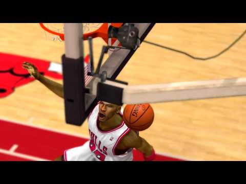 NBA 2K13: Michael Jordan Dunk (FREESTYLE)