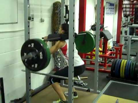 Watson safety squat bar youtube for Homemade safety squat bar