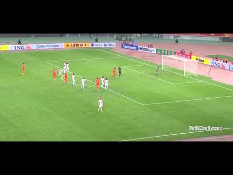 Vagner love goal pohang steelers 0 - 1 shandong luneng afc chions