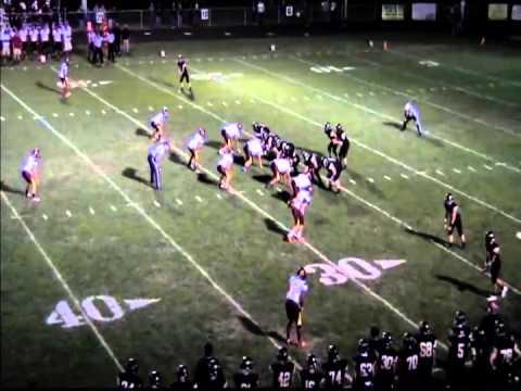 Central Regional High School Football vs  Pt  Boro 2013 Jesse Brown #76