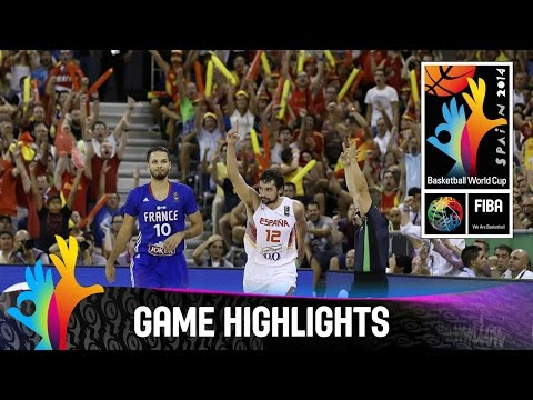 Spain v France - Game Highlights - Group A - 2014 FIBA Basketball World Cup