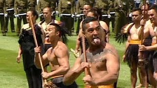 Traditional Haka welcome for China's president in New Zealand - no comment