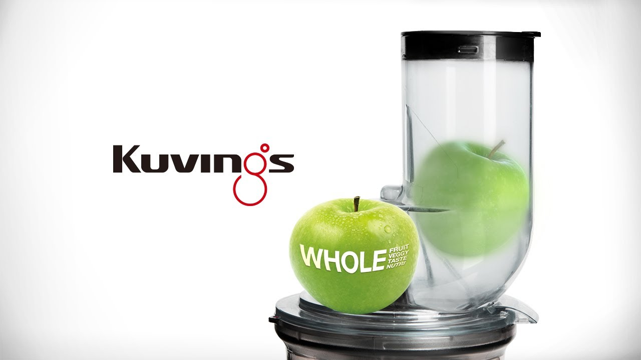 Kuvings WHOLE Slow Juicer (Big Mouth Innovation) - Official video : Best Juicer B6000 - YouTube
