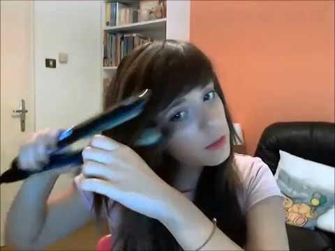 How I do my hair! Πώς φτιάχνω τα δικά μου μαλλιά.