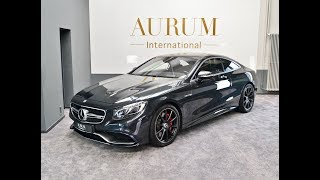 Mercedes-AMG S 63 Coupe *SWAROVSKI* *3D BURMESTER* *MAGIC SKY* Walkaround by AURUM International